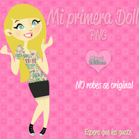 Mi Primera Doll by MaguiEditionsLove