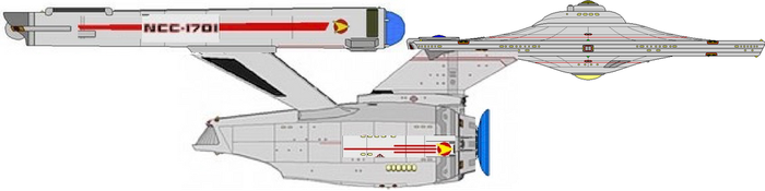My Phase II Enterprise with TMP Refit outer hull by Kal-el4