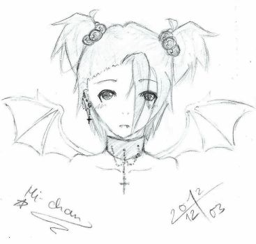 A Vampire with Crosses by PiiCtuReBoOom