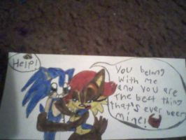 Sonic and Sally Love by PrincessShannon07
