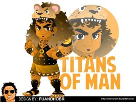Hercules the Titans of man Chibi Form by NDomon87