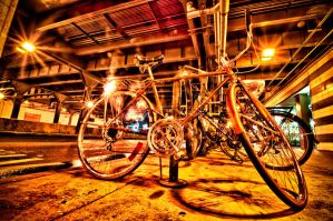 Lighted Bike by runyouknow1