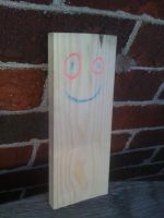 My best friend, Plank. by Moon-manUnit-42