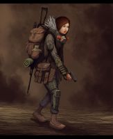Post Apocalyptic Character Design by DanilLovesFood