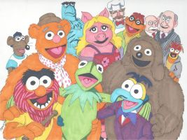 Meet the Muppets by RobertMacQuarrie1