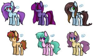 Adoptables [OPEN] by Annie-Adopts