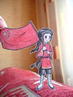 China - paper  men by Annuhka