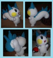 Crochet Pachirisu by Mr-Nova