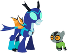 Ben 10 Reboot - Stinkfly and Grey Matter (mlp) by Negaboss2000