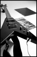 BC Rich and Vynils by Strange-Paradise