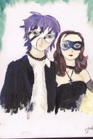 The masked couple. by sugerplumfairygirl