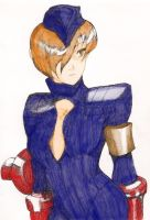 Juni Street Fighter Alpha 3(colored) by lilrich731
