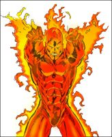 Human Torch by lordhelikaon