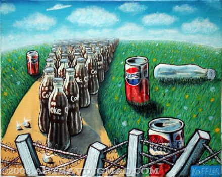 Pepsi VS Coke by ckoffler