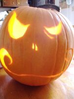 Jack-o-Lantern by spazzymcgee235