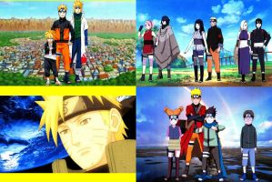 Naruto Top Four Special Wallpapers by weissdrum