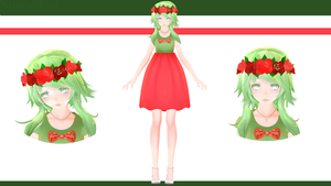 MoDeL SeRie1--VoCaLoiD FLoWeRS :Gumi [+50watchers] by Satoru--kun