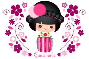 Guatemalan Doll by minercia