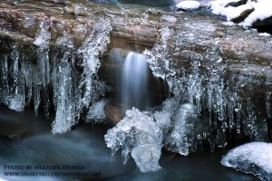 Ice Fall by HeatherTelesca