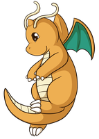 149: Dragonite by CollectionOfWhiskers