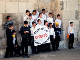 Boys, Jerusalem by dpt56