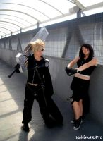 Cloud x Tifa - Advent Children by uchimakiPro