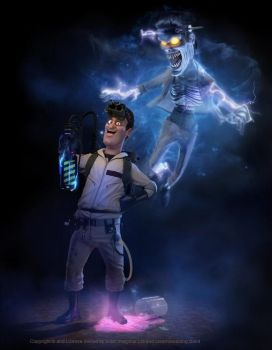 Ghostbusters Character by imaginaruk