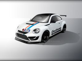 Volkswagen Maggiolino Time Attack Herbie by SharryItalian