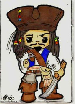 Mr. Jack Sparrow by eileenshige
