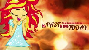 My Past is Not Today Wallpaper by CaseyJewels