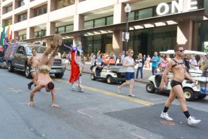 2015 Boston Pride Parade, Tricks On the Street by Miss-Tbones