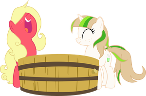 Apple Bobbing by chipmagnum