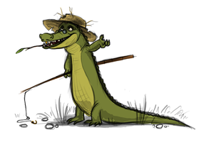Fishercroc by Frozenspots