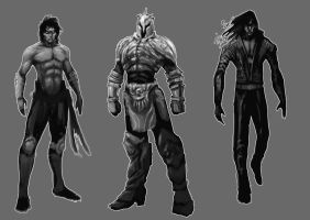 Male concepts by NanadoRJ