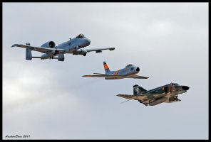 Air Force Heritage II by AirshowDave
