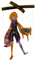 Halloween Mascot - Tricker Jack by Jumping-Beans