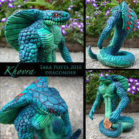 Khovra the Cobra Monster by DragonosX