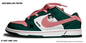 Nike Dunk Low: Ten Ten by DertyHarry