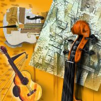 Braque's violin by Master-Tonio