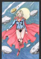 SUPERGIRL - COLOR - by LEO MATOS by Ed-Benes-Studio
