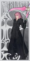 Art Nouveau - Marluxia by silvestris