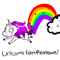 Unicorns Fart Rainbows :3 by Kaigumo