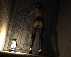 Ciara's Egyptian Nightmare 4 by Torqual3D