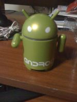 Parlante del robot Android by Alucard4