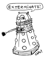 EXTERMINATE! by dehblee