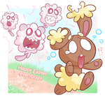 Choco Buneary by Lexcitement