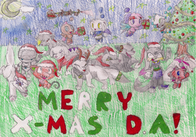 Have Merry Christmas by Sydzilla96