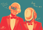 Daft Punk, #9 by wolfeh777