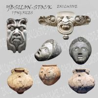 Faces Exclusive Set PNG by YBsilon-Stock