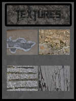 Texture pack (18 stone/wood textures) by Neurologics